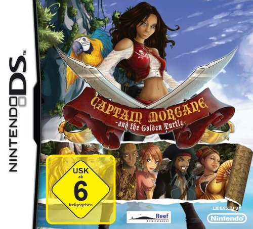 Captain Morgane and the golden turtle [import allemand]