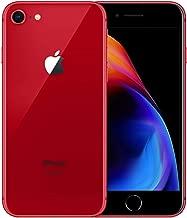 Apple iPhone 8 256GB Red Fully Unlocked (Renewed)
