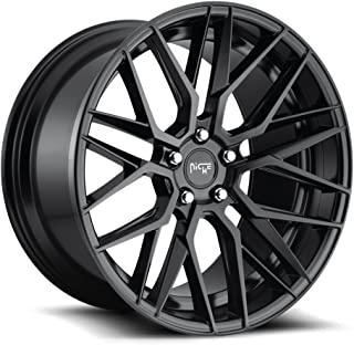 NICHE Gamma BD -Matte BLK Wheel with Painted (19 x 10. inches /5 x 114 mm, 35 mm Offset)