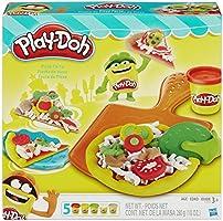 Conjunto De Massinha Play-doh Festa Da Pizza Com 5 Potes Play-doh