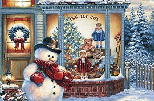 Preisjubel 6X Platzdeckchen Weihnachten 28152, rechteckig, Platzmatte, Tischset, Platzdecke