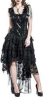 Burleska Ophelie Dress Abito Lungo Nero