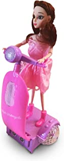 LilPals Princess Doll with Segway Scooter - Riding Toy Features Music, Cool Moves and Emits Awesome Light & Sound - Kids of 3+