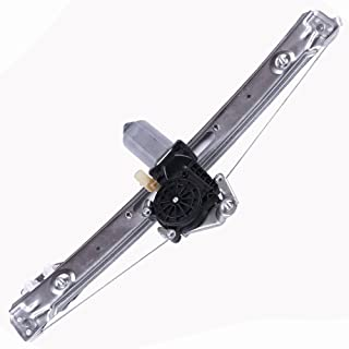 Power Window Regulators Rear Left Drivers Side with Motor Assembly Replacement Parts for 2001-2005 BMW 325i 325xi 330i 2000 BMW 323i 328i 1999 BMW 323i 328i