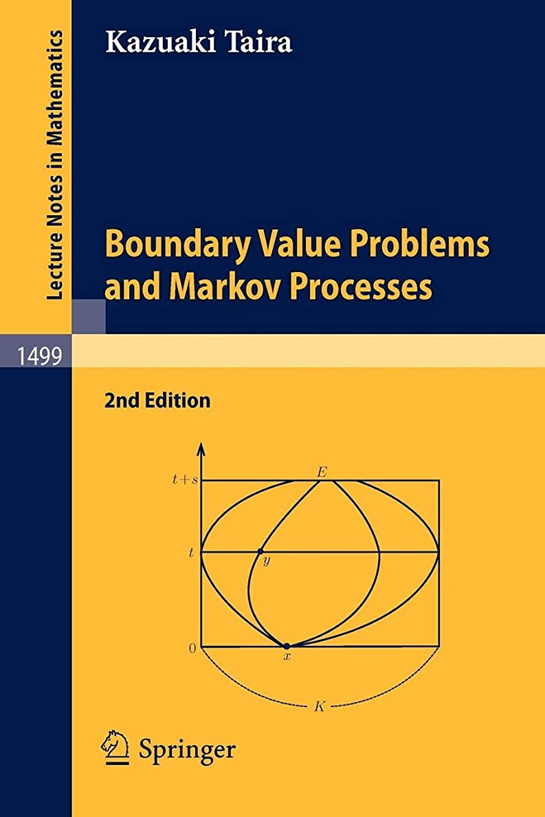 ウェイター補充ワードローブBoundary Value Problems and Markov Processes (Lecture Notes in Mathematics)
