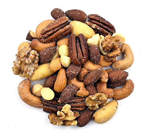 Anna and Sarah Roasted & Salted Premium Mixed Nuts (No Peanuts) in Resealable Bag, 2 Lbs