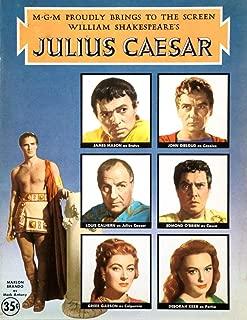 Posterazzi Print Collection Julius Caesar Movie Poster Art (11 x 17)