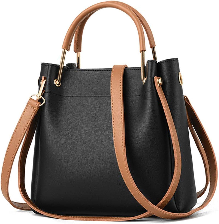 XMYL XMYL XMYL Frau Volltonfarbe Handtasche PU Leder Mode Umhängetasche 24,5  8,5  23 cm B07KYG6YWT  Lass unsere Waren in die Welt gehen 9e69d4