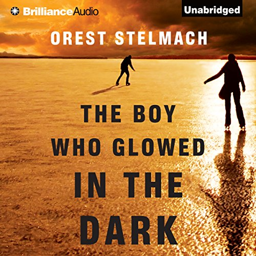 The Boy Who Glowed in the Dark audiobook cover art