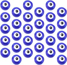 KESYOO 100pcs Eyeball Beads Plastic Evil Eye Bead Charms Pendants Crafting Spacing Beads Jewelry Making Accessories for Br...