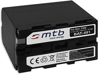 Batería Compatible con NP-F960 F970 [6600 mAh] para Sony ...