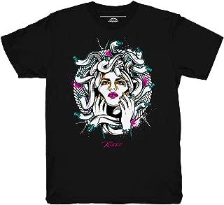 South Beach 8 Medusa Black Shirt to Match Jordan 8 South Beach Sneakers