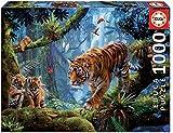 Educa - Tigres en el Àrbol Puzzle, 1000 Piezas, Multicolor (17662)
