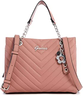 GUESS Factory Women's Corwin Quilted Satchel