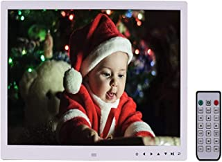 Digital Photo Frame 17 inch Electronic Picture Frame High Resolution 1440 * 900 with 1080P HD LCD Display, Video Player,MP...