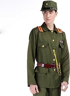 旧 日本軍 軍装 軍官下士官スーツ仮装 演劇 ハロウィーンhalloween男性用 男の子 (175cm)