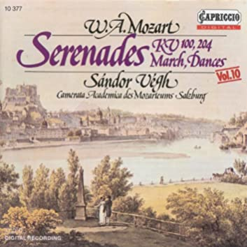 Mozart, W.A.: Serenades, K. 100 and 204 / Contredanses / Marches