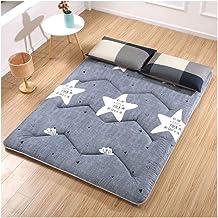 Tatami Mattress, Japanese Futon Mattress, Comfortable and Soft Mattress Single Double Mattress Dormitory Futons Camping Ma...