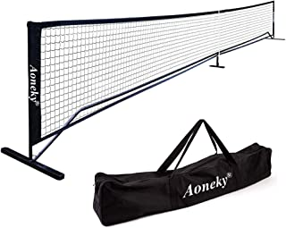 Aoneky Portable Pickleball Net System - Picklenet Outdoor Game Set - Pickle Ball Net