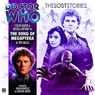 Doctor Who - The Lost Stories - Song of the Megaptera audiobook cover art