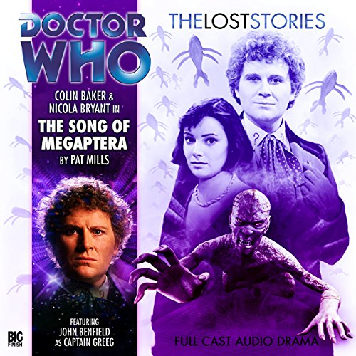 Doctor Who - The Lost Stories - Song of the Megaptera cover art
