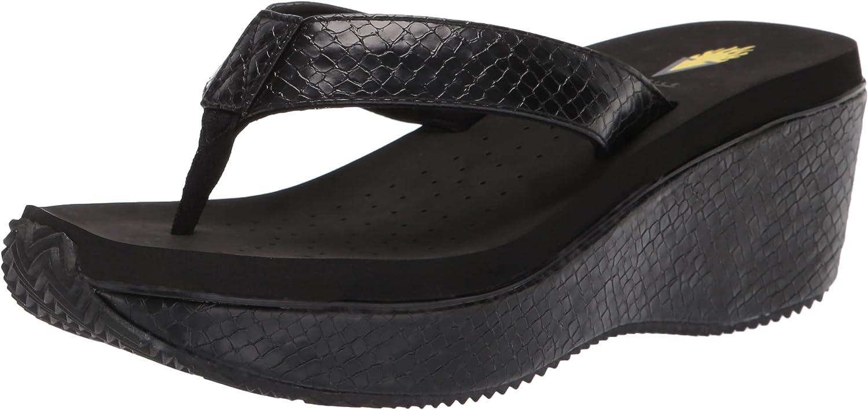 Volatile Women's Flip Sandal Time sale Max 85% OFF Wedge Flop