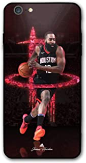 iPhone 6s Case,iPhone 6 Case,Basketball Fashion Protective Shockproof Anti-Scratch Soft Bumper Case (Harden)