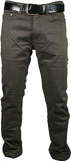 Mastino - Pantalone Uomo Felpato Imbottito Pile Termico Foderato Caldo Inverno Elastico Regular Fit da46 a 64