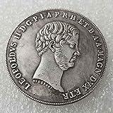 YunBest 1859 Italia Moneda Antigua Libertad - Italia Lira antigua Moneda Conmemorativa -Gran Moneda de Italia Uncirculada -Gran Italia Monedas-Descubre la Historia de las Monedas BestShop