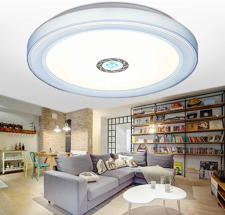 MackeJacke Moderne Minimalistische Acryl Wohnzimmer Lampe Führte Schlafzimmer Lampe 50  50 cm Blau TriFarbe Licht