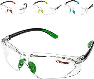 Gafas de seguridad con lentes antivaho transparentes antivaho y agarres antideslizantes protecci/ón UV