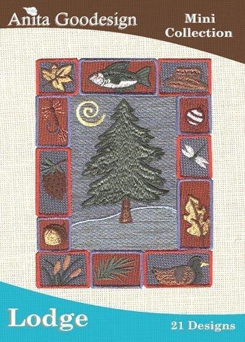 Anita Goodesign Embroidery Machine Designs Cd Lodge by Anita Goodesig