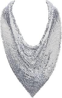 Best metal mesh necklace Reviews