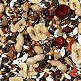 Johnston & Jeff 2kg Premium Fruity Parrot bird seed food sold by Trusty Pet Supplies