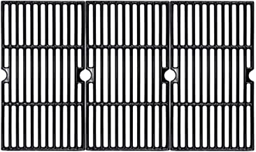 BBQMall Porcelain Enameled Cast Iron Grill Cooking Grate for Charbroil 463420508, 463420509, 463420511, 463436213, 4634362...