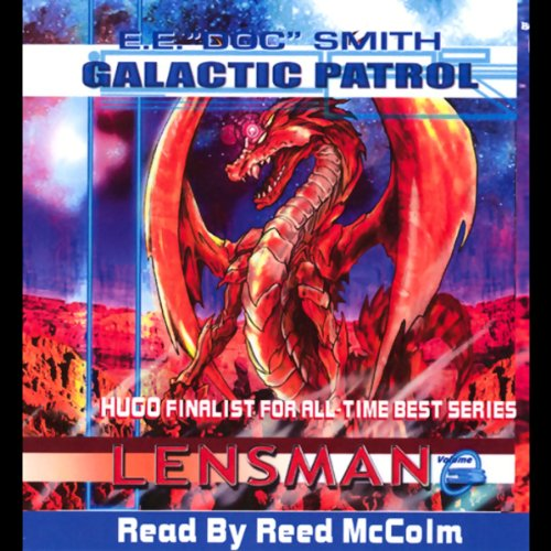 Galactic Patrol audiobook cover art