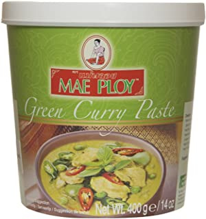 Thai Green curry paste (400g by Mae Ploy