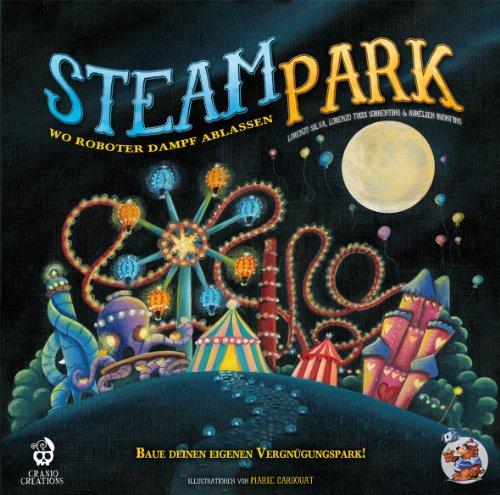 Asmodee HE538 - Steam Park Brettspiel