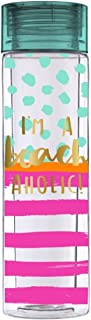 Slant - 16oz Double Wide Water Bottle Confetti - I'm a Beachaholic