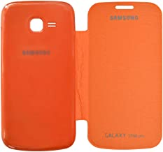 COVERNEW Flip Cover for Samsung Galaxy Star Pro S7262 - Orange