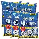アイリスオーヤマ 紙の猫砂 7Lx6袋 (まとめ買い)