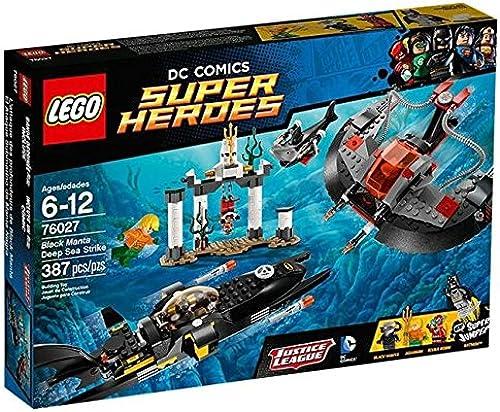 Sin impuestos LEGO Super Heroes - Manta Negra Deep Sea Sea Sea Strike (76027) , Modelos Colors Surtidos, 1 Unidad  tienda de bajo costo