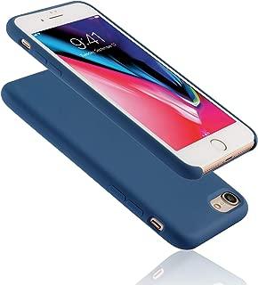 Seasonal Discovery IPHONE 8/7 高品質シリコーンスマホカバー 【高品質液態シリコーン素材/内側繊維バンバー/シンプルなデザイン/ワイヤレス充電可能/汚れが付きにくい/指紋の付着やホコリを防ぎ清潔に保つ】iPhone 8/7 (ブルーコバルト Blue Cobalt)