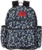 Disney Mickey Mouse Toss Head Print Backpack Diaper Bag, Black (DB30373)