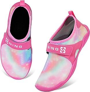 Sandalias para niños y niñas, zapatos de agua de secado rápido, con puntera cerrada, sandalias deportivas acuáticas para n...