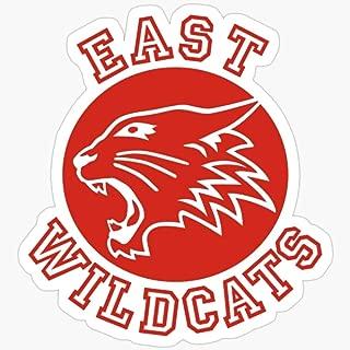Deangelo East High Wildcats (High School Musical) Stickers (3 Pcs/Pack)