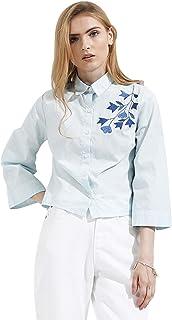 Koovs Shirt Neck Shirts For Women