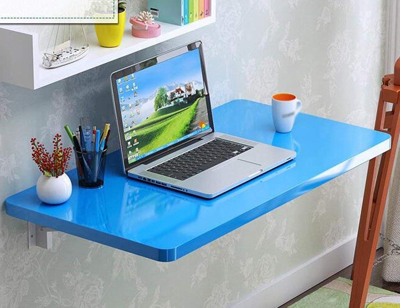 tomar hasta un 70% de descuento Wghz Mesa Plegable Plegable Plegable de Parojo Mesa Plegable Mesa de Parojo Simple Mesa de Comedor Mesa de Parojo Mesa de Parojo de Escritorio para computadora Mesa de Parojo, Azul, 60  40 cm, 110  40 cm (Tamaño  90  mejor vendido