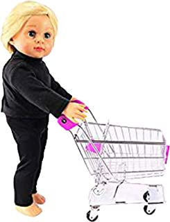 Mini Hot Pink Shopping Cart   18
