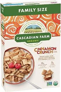 Cascadian Farm Organic Family Size Cinnamon Crunch Cereal, 16oz